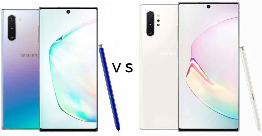 Samsung Galaxy Note 10 vs note 10+ Review