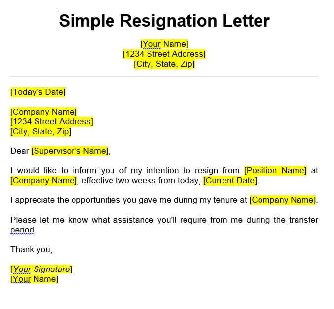 Resignation Letter Sample Nurse from whathandset.com